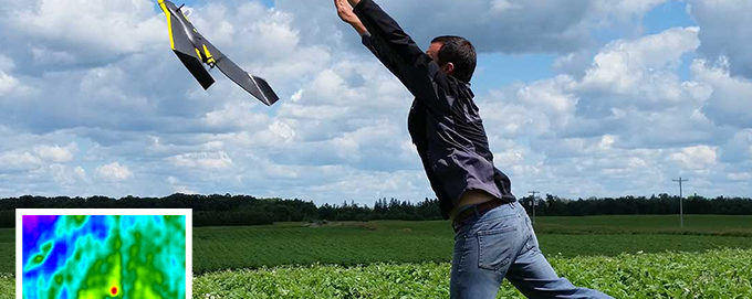 Using Drone Technology To Estimate Crop Yields & Assess Plant Health