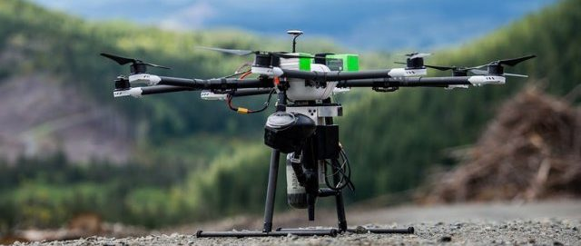 Droneseed Seed Planting Drone
