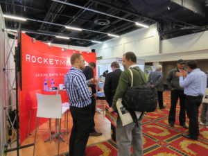 Rocketmine Stand At The Geomatics Indaba 2015