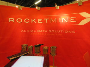 Rocketmine Aerial Data Solutions Event Banner At The Geomatics
