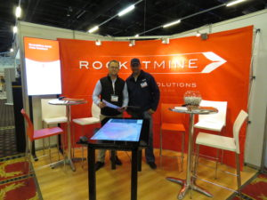 RocketMine at Geomatics Indaba Exhibition 2015