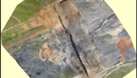 Aerial Footage Of A Mine Captured By Rocketmine