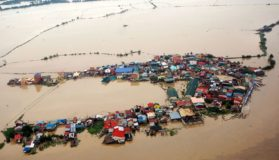 Drone Footage Of Floods In The Philippines